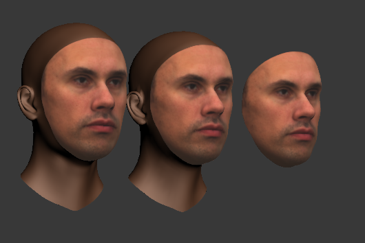 Nikolai as a textured shape model