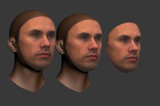 Nikolai as a textured shape model